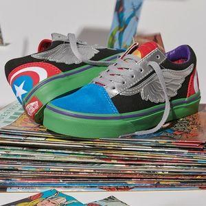 Vans x Marvels Captain America Old Skool